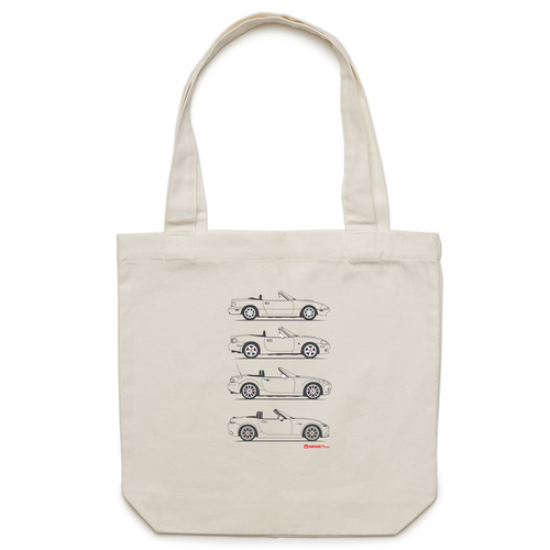 MX5 Lover-  Canvas Tote Bag
