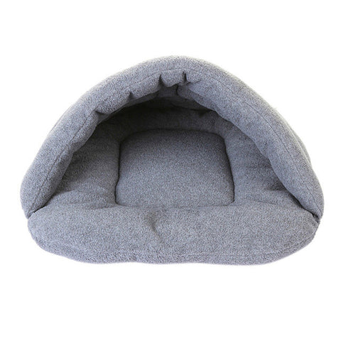 Newest Pet Dog Crate Cat Cave Warm Winter Bed House Sleeping Bag