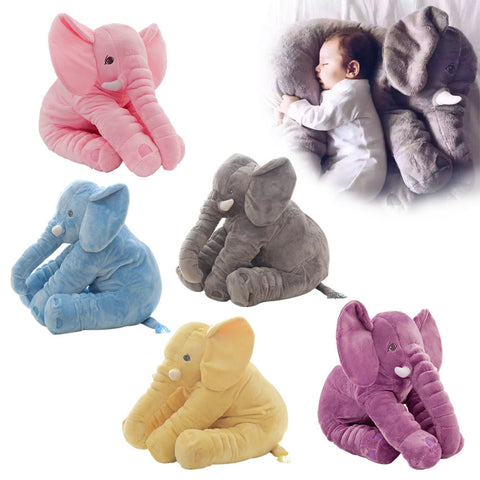 Elephant Doll Stuffed Plush Pillow For Kids