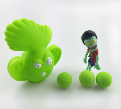 2017 PVZ Plants vs Zombies Peashooter PVC Action Figure Model Toy Gifts Toys For Children High Quality
