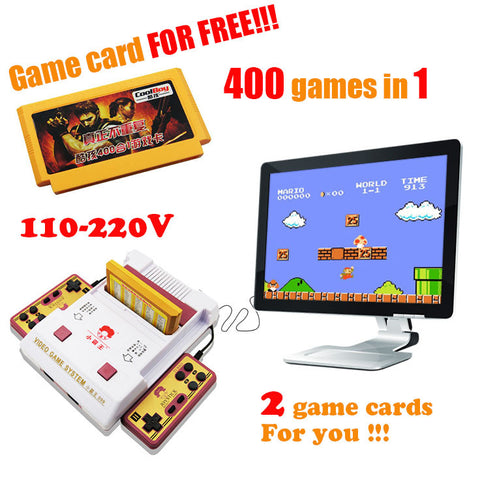 Retro Megason Video Game Console - Free 400 Games Card