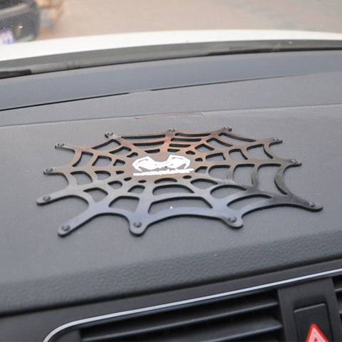Car Silicone Anti Slip Mat Cobweb Car-styling Mobile Phone Gadgets Magic Pad Creative Automobiles Interior Accessories Supplies