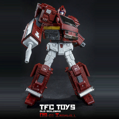 Toy TFC Toys TF Old Time Series Ironwill Ironhide