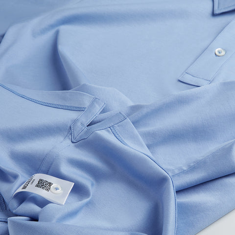 Flat felled inside seam on polo shirt | Niccolò P.