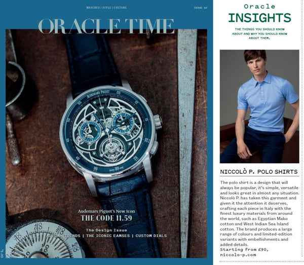 Oracle Time Magazine
