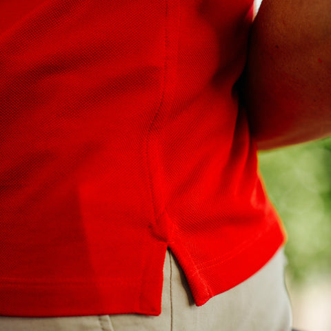 Polo shirt hem detail | Niccolò P.