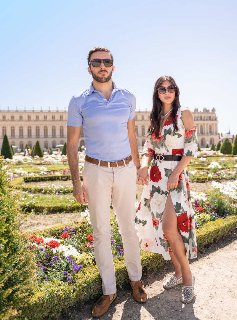 Jarvis Marcos in Niccolò P. Polo Shirt by Palace of Versailles