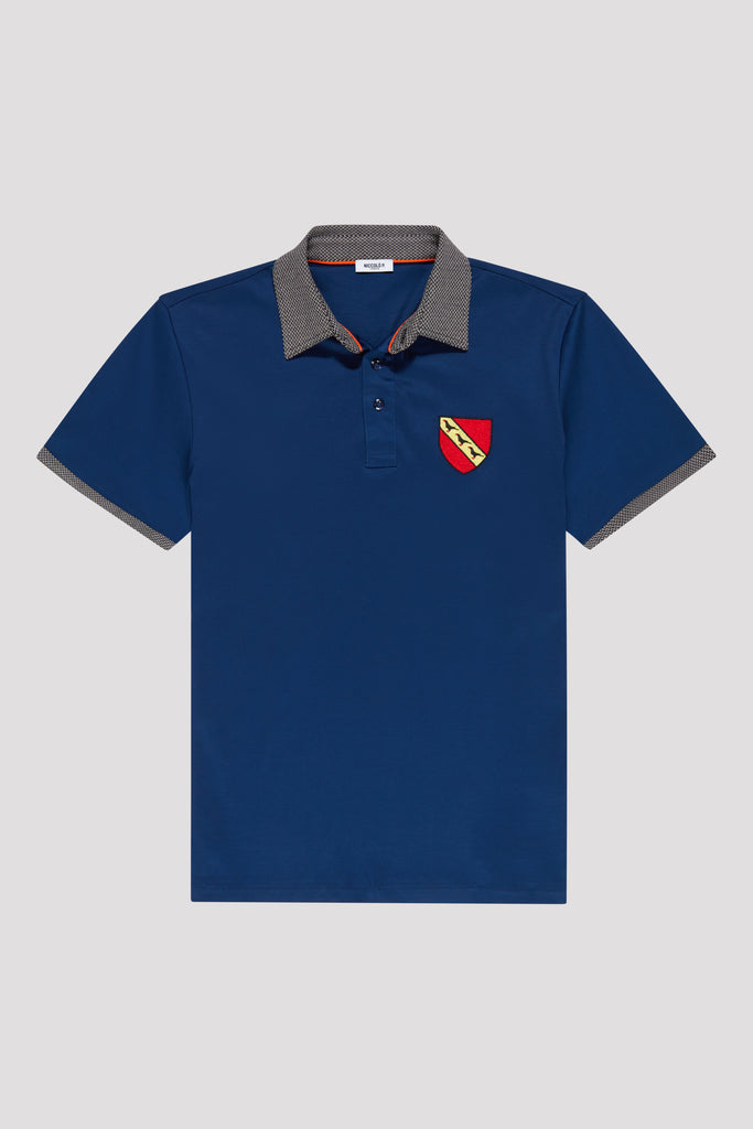 Limited Edition Polo Shirt with Crest