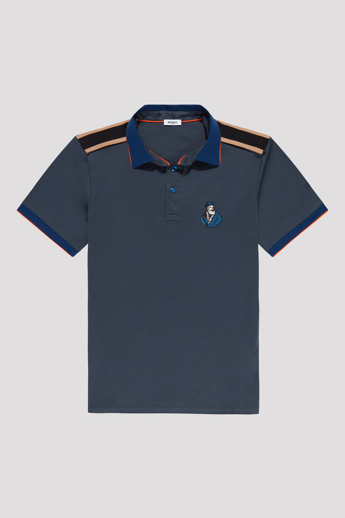 Limited Edition Polo Shirt with Embroidery