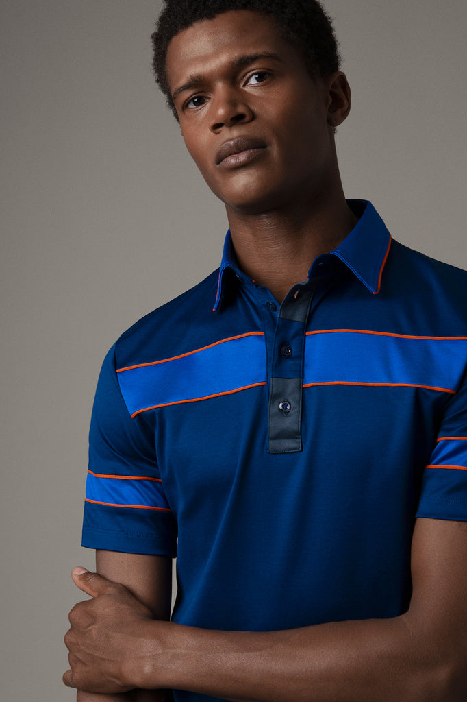 Limited Edition Polo Shirt with Stripes