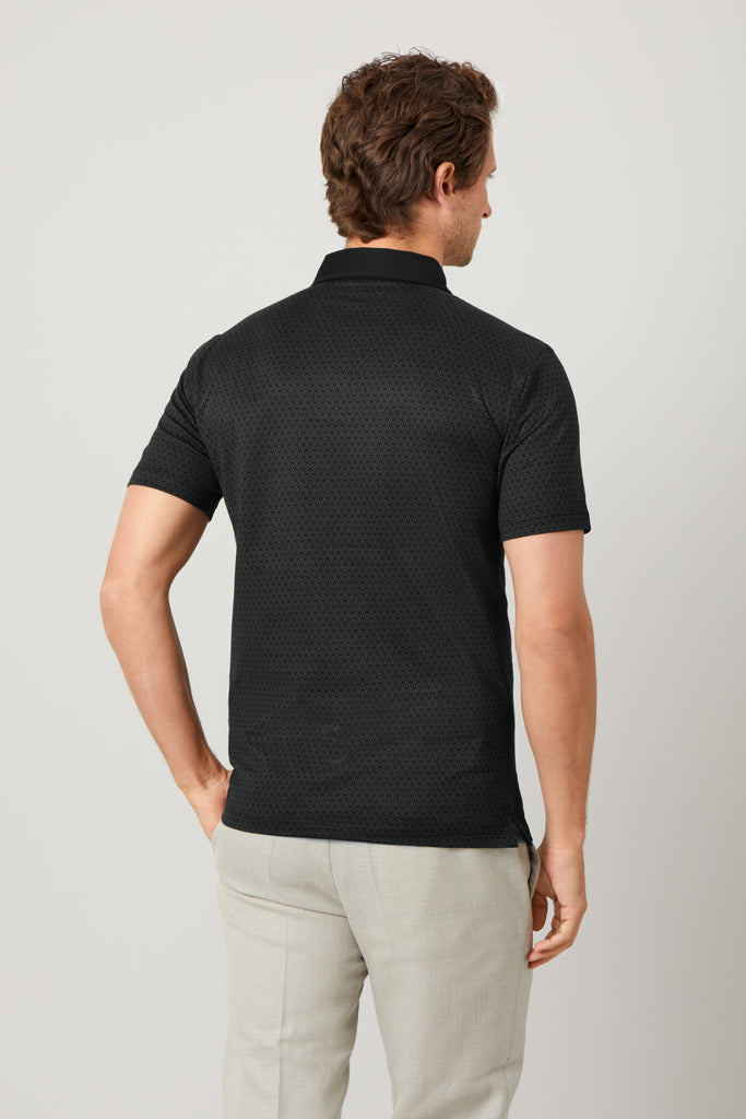 Limited Edition Pirate Black Polo Shirt
