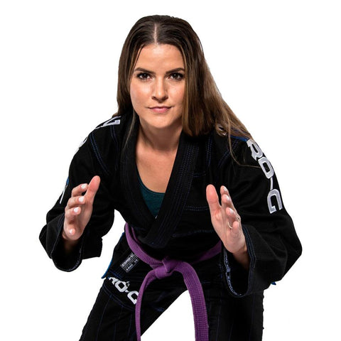 Ladies Black Zero G V4 Advanced Lightweight Gi