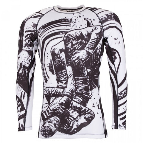 Tatami Grapplers Collective Triangle Grappling Rashguard