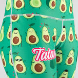 Ladies Avocado Print Leggings
