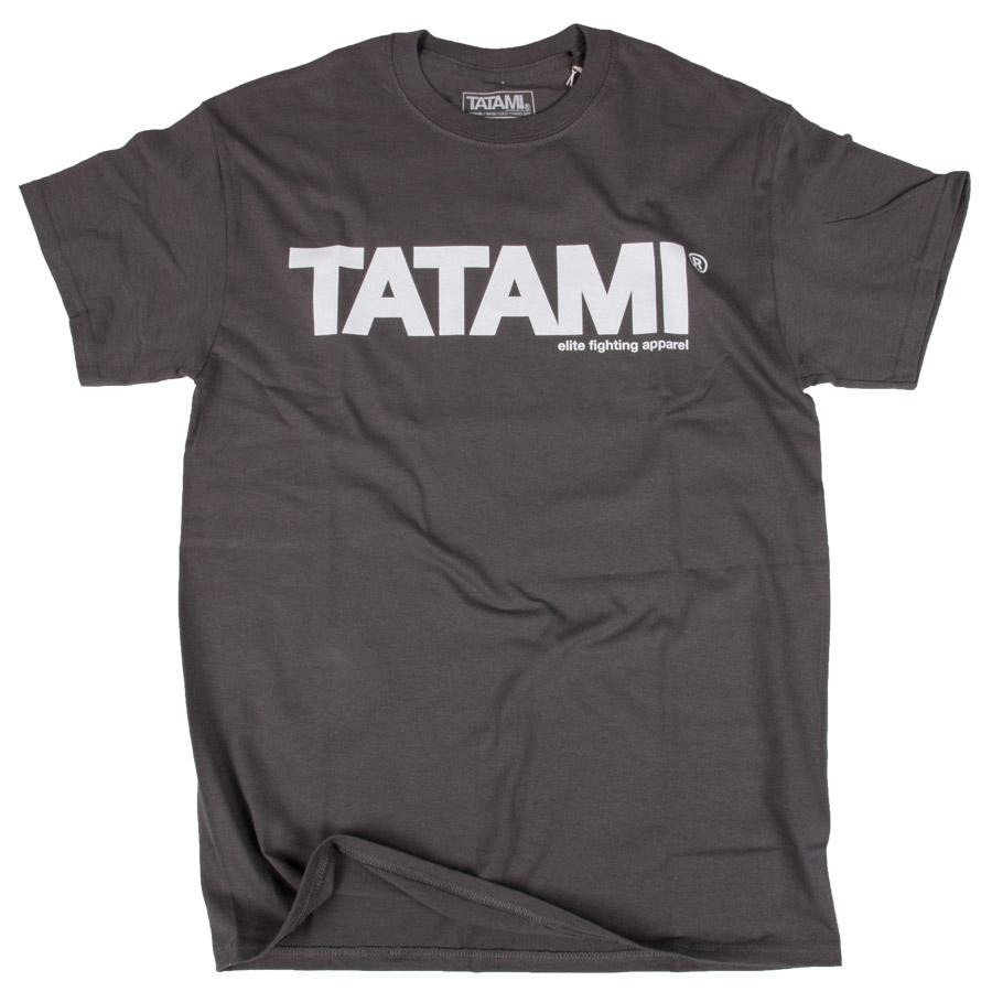 Tatami Essential Charcoal T-Shirt