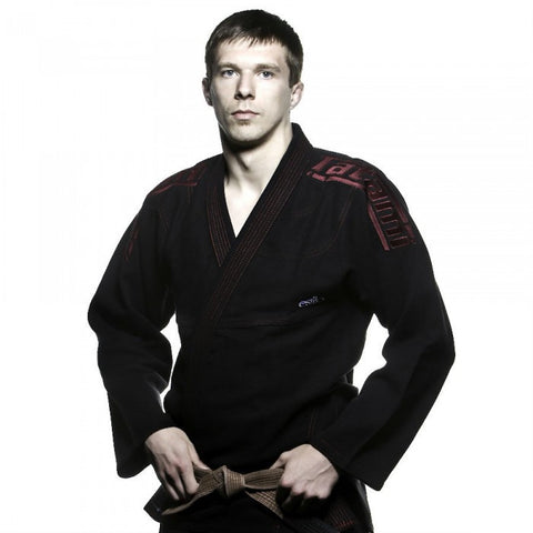 Estilo Leve Ultralight BJJ Gi - Black