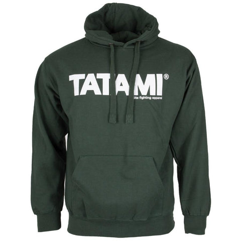 TATAMI ESSENTIAL FOREST GREEN HOODIE