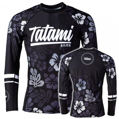 Hibiscus Rash Guard