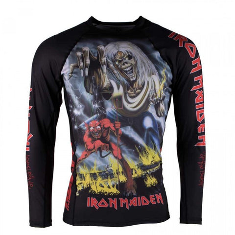 Tatami Iron Maiden Number Of The Beast Grappling Rashguard
