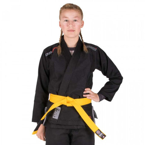 Kids Comp SRS Lightweight BJJ Gi Black