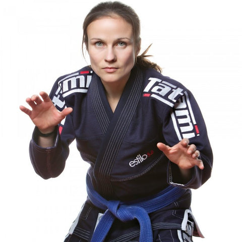 Ladies Estilo 5.0 Premier BJJ Gi - Navy