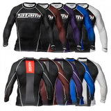 2014 Female Long Sleeve IBJJF Rash Guards
