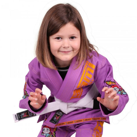 NEW Meerkatsu Kids Animal Gi - Purple