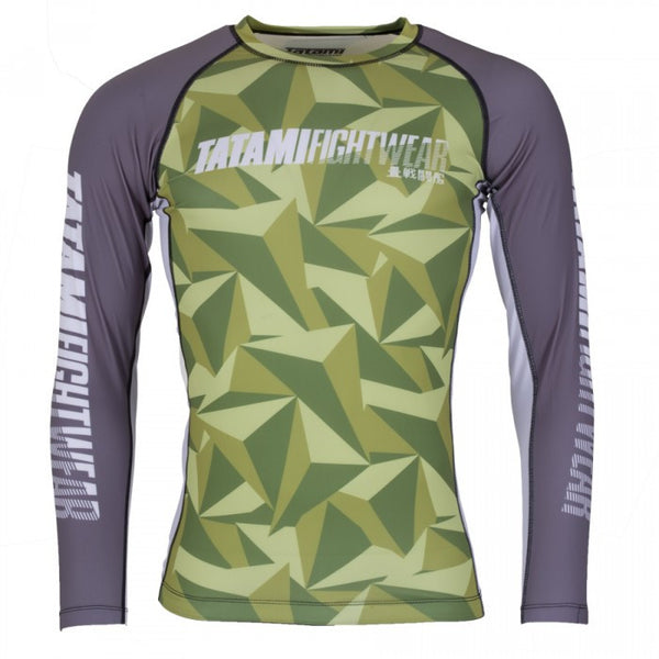 Tatami Nexus Grappling Rashguard - Green