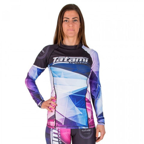 TATAMI ® ESSENTIALS LADIES PRISM RASH GUARD