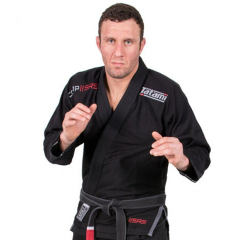 Comp SRS Lightweight BJJ Gi - Black