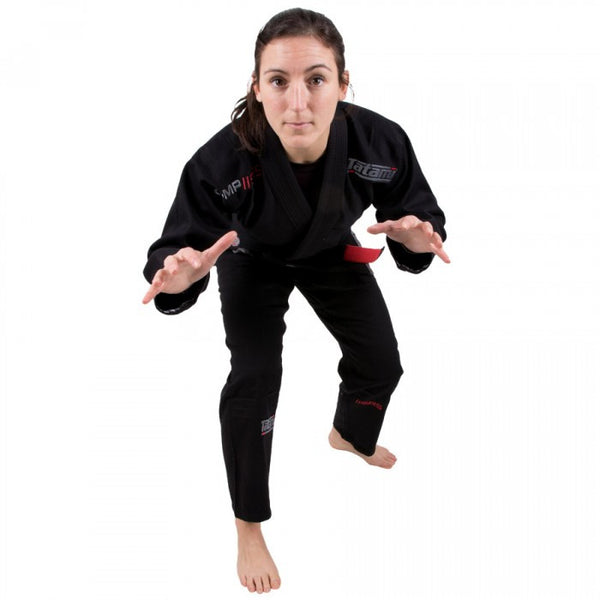 Ladies Comp SRS Lightweight BJJ Gi - Black