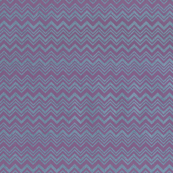 Magenta And Steel-Blue, Multi-Width Chevron. 10132, Zig Zag