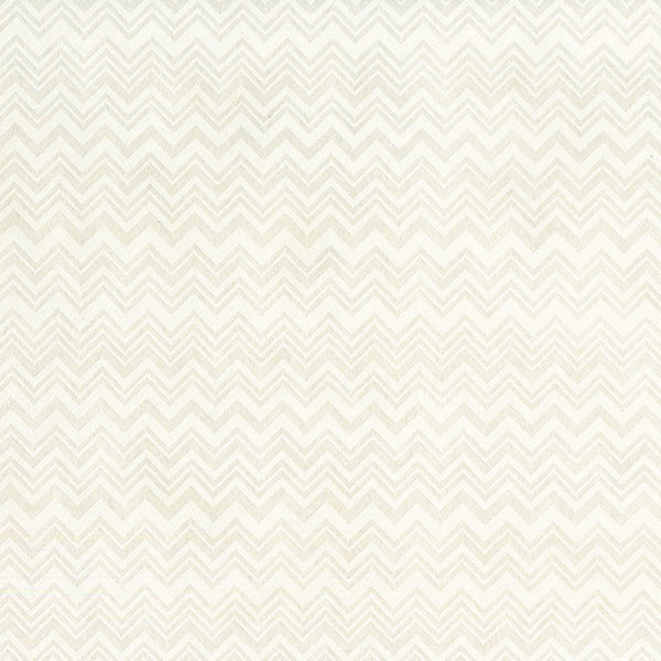 Ivory And Flocked White , Multi-Width Chevron. 10135, Zig Zag