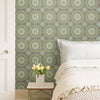 Gemma Grey Boho Medallion Wallpaper