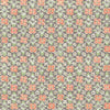 Free Spirit Coral Floral Wallpaper