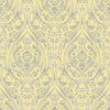 Gypsy Yellow Damask Wallpaper