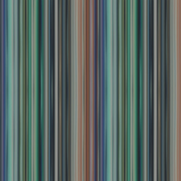 Multicolour Vertical Stripe With Deep Greens, Blue, Browns And Greys. 10181, Riga Multicolor Verticale