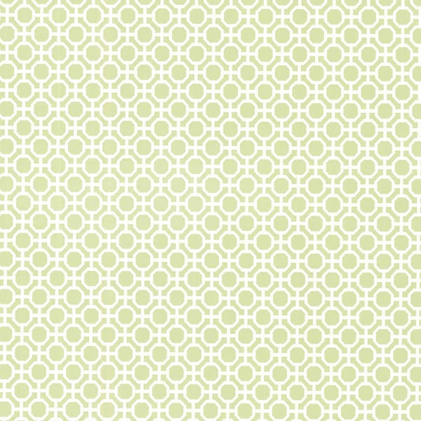 Beatrix Celery Modern Geometric Wallpaper