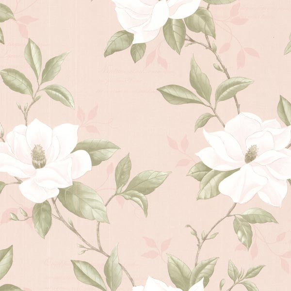 Cressida Blush Magnolia Trail Wallpaper