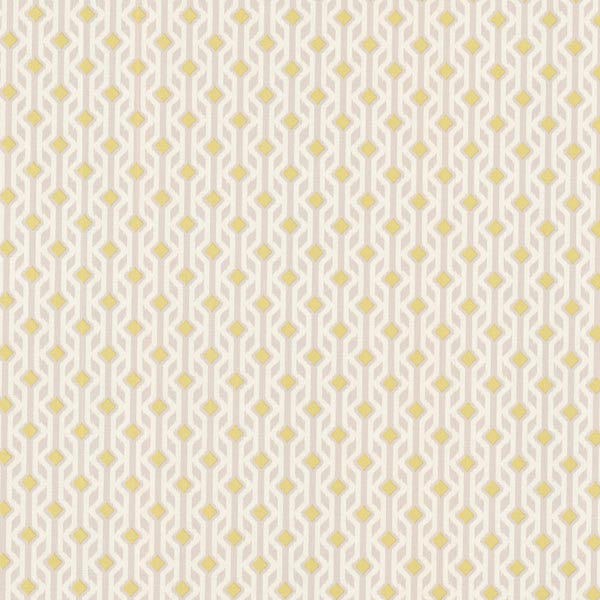 Emmett Yellow Tribal Geometric Wallpaper