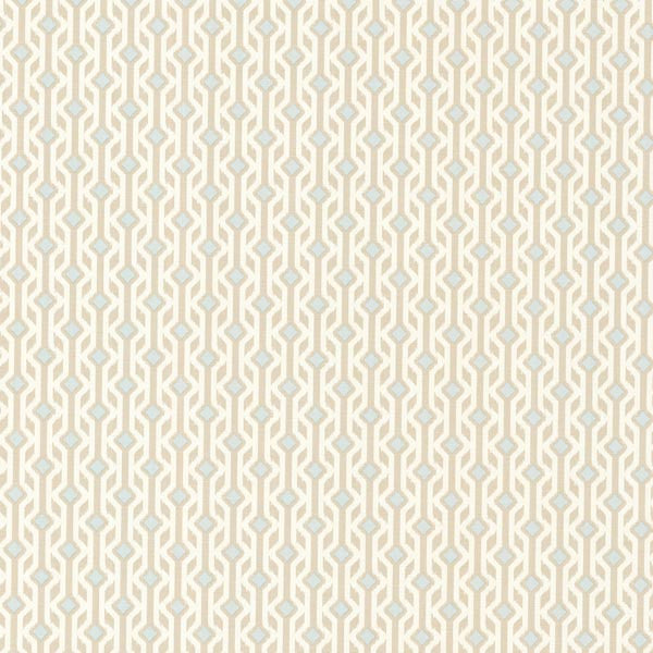 Emmett Beige Tribal Geometric Wallpaper
