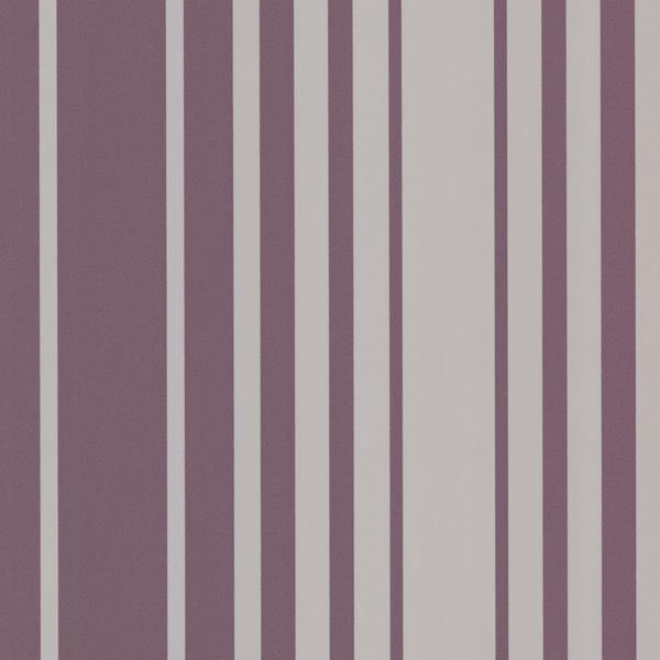 Lewitt Purple Barcode Stripe Wallpaper