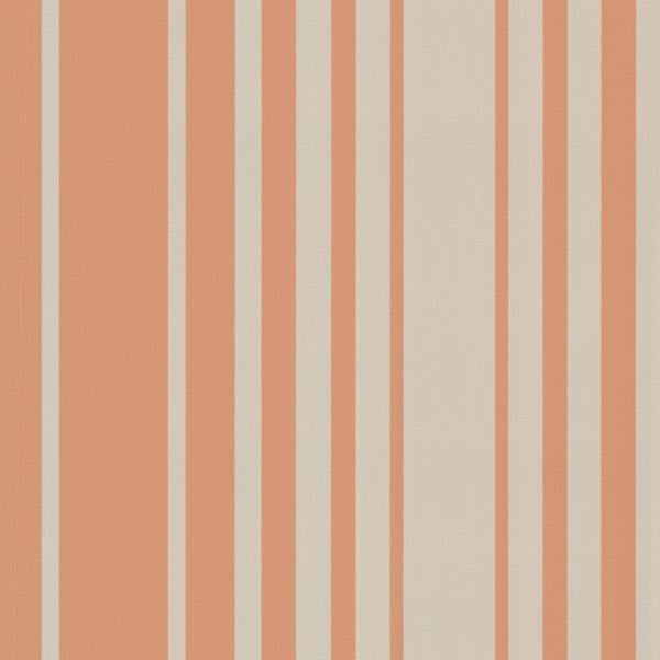 Lewitt Orange Barcode Stripe Wallpaper