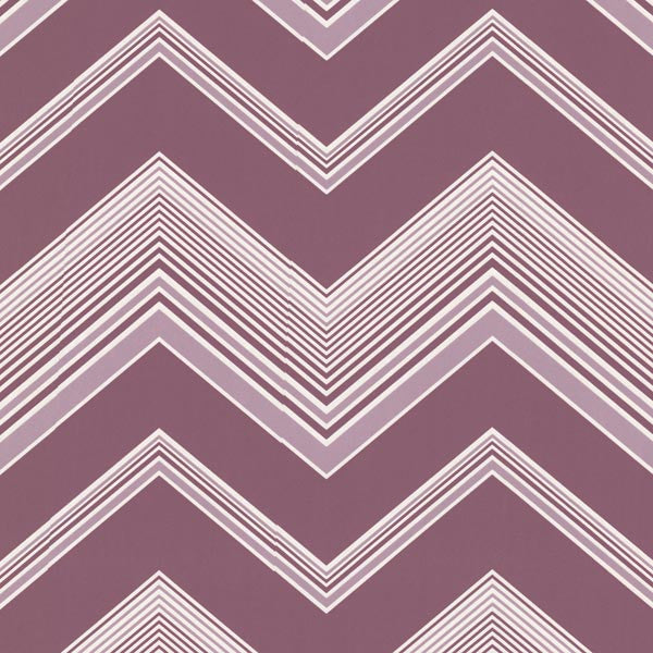 Bearden Purple Zig Zag Wallpaper
