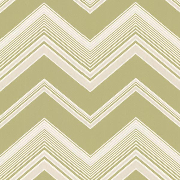 Bearden Light Green Zig Zag Wallpaper