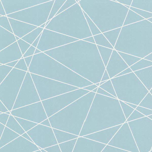 Magritte Light Blue Criss Cross Geo Wallpaper