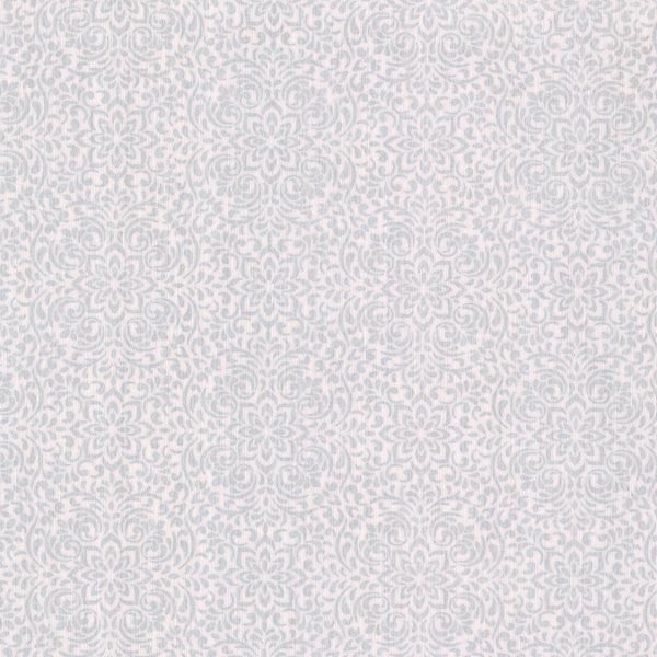Hudson Light Grey Lace Mini Wallpaper