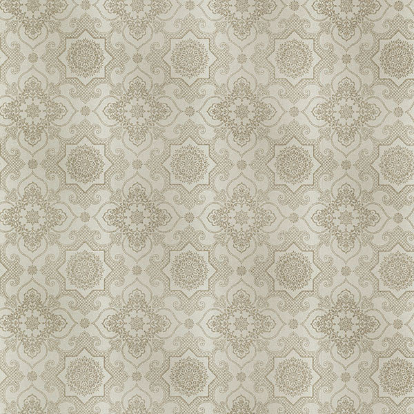 Tendilla Taupe Lattice Wallpaper
