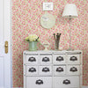 Elsie Pink Floral Wallpaper