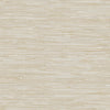 Beige Grey Faux Grasscloth Wallpaper